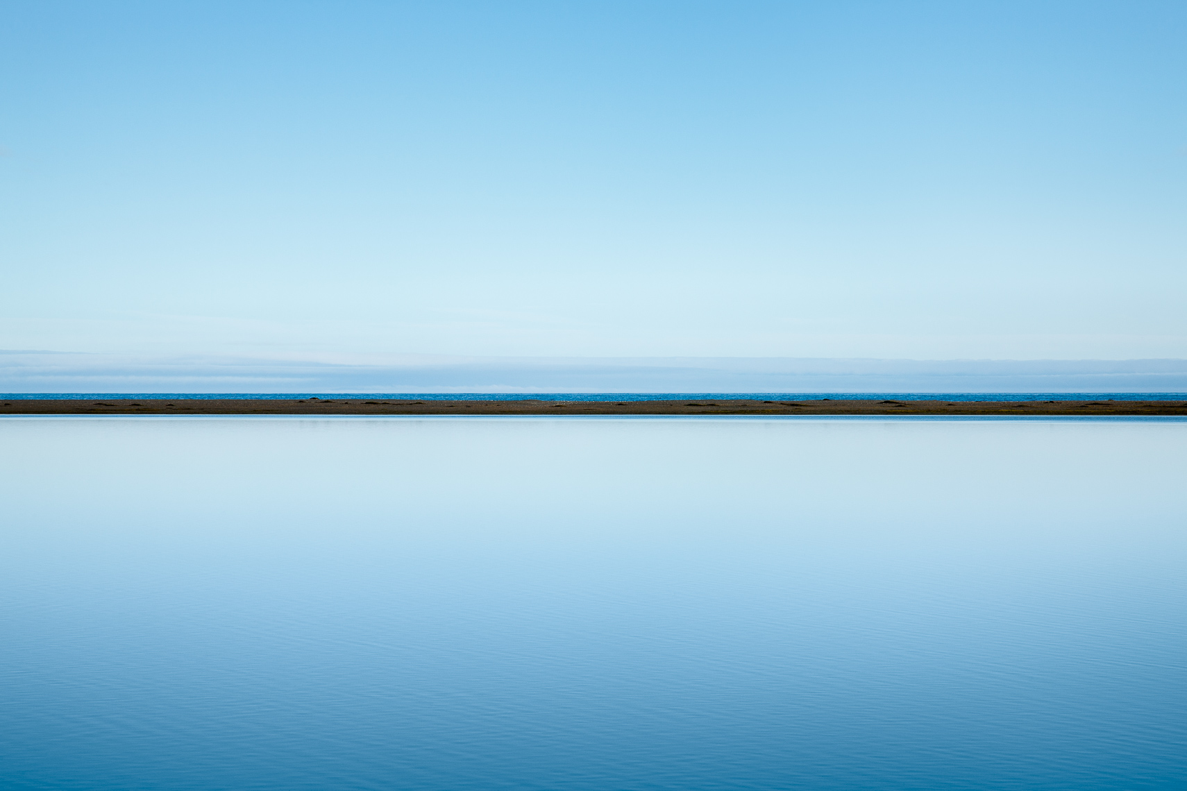 The Art of Stillness - Blue Lagoon I
