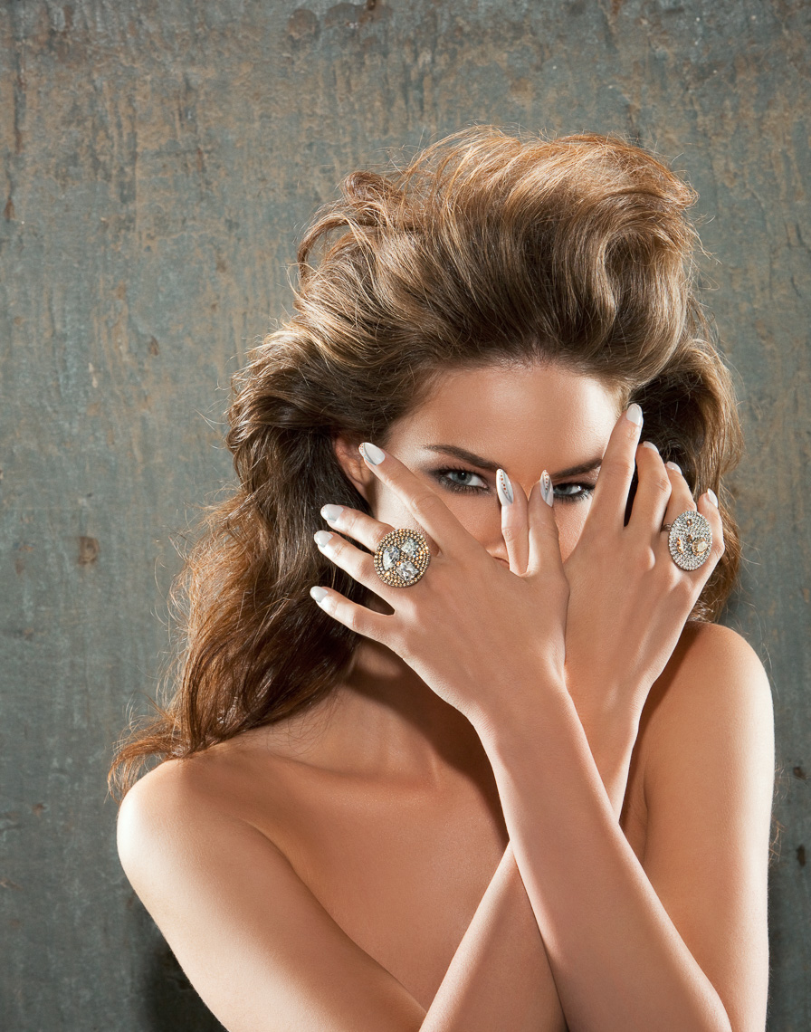 Editorial Beauty Jewelry Photography